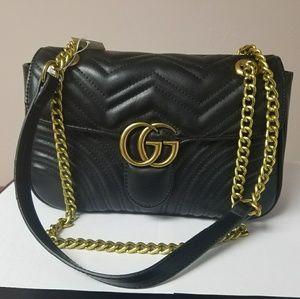 Beautiful black Gucci bag.